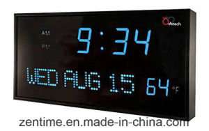 Let Digital Light Wall Clock in Hot Sell pictures & photos