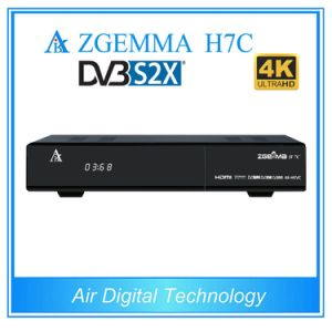 4k Ultra HD Zgemma H7c Cable TV Receiver Combo DVB-S2X+2*DVB-T2/C 4k Satellite Receiver pictures & photos