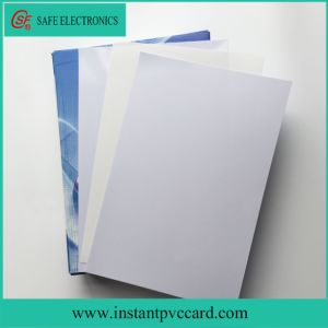 for Epson or Canon Inkjet Printer PVC Card Material with Stiffness Features pictures & photos