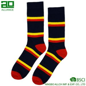 Manufacturer Supply Men`S Dress Sock pictures & photos
