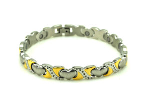Magnetic Bracelet Made From 316L Stainless Steel with Custom Design pictures & photos