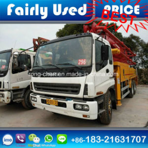 Low Price Used 37m Putzmeister Concrete Pump Truck for Sale pictures & photos