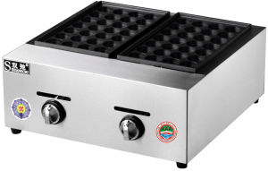Convinent Popualr Catering Equipment Gas Fish Pellet Grill for Wholesale pictures & photos