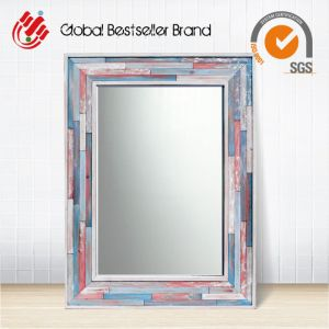 Hot Sale in USA Colorful Frame Mirror for Home Decoration (LH-M170606) pictures & photos
