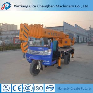 Promotion Mini Telescopic Boom 4 Ton Crane with Truck Chassis pictures & photos