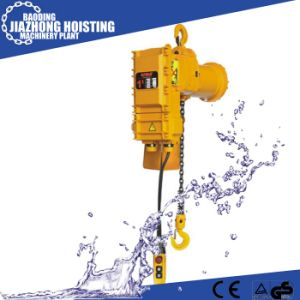 3ton Speed 5.6m/Min Electric Chain Hoist Wirh Electric Trolley pictures & photos
