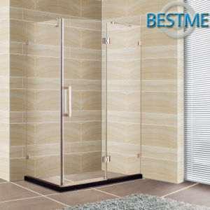 Tempered Glass Cheap Price Hinge Shower Cubicle (BL-Z3503) pictures & photos