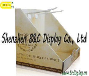 Gold Supplier Custom Made Corrugated Display Stander PDQ Boxwith SGS (B&C-D061) pictures & photos