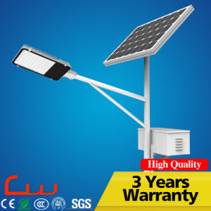 30W Integrated LED Solar Street Light with Post pictures & photos