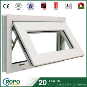 PVC Projected Double Glazed Ventilator Window From Fujian Factory pictures & photos