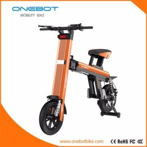 2017 New Folding Electric Bike in Aluminum Alloy Frame, Front&Rear Dual Shock Absorber, Dual Rear Disc Brake pictures & photos