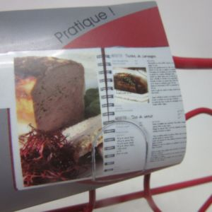Iron Painting Recipe Book Holder pictures & photos