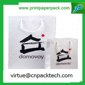 Luxurious Recycled Kraft Paper Bag with Logo Print for Sports Garment Shopping pictures & photos