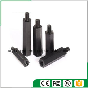 M2.5 Nylon Hex Threaded Female to Male Standoff/Spacer (Color: Black) pictures & photos