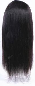Silk Straight Mongolian Virgin Hair Human Hair Silk Top Wig pictures & photos