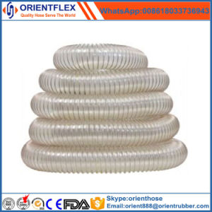 Flexible Spiral PU Wire Reinforced Air Duct Hose pictures & photos