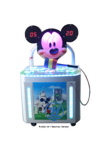 Coin Operated Whack-a-Mole Kids Game Machine (ZJ-WAM06) pictures & photos