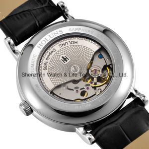 Automatic Stainless Steel Swiss Movment Men′s Wrist Watch pictures & photos