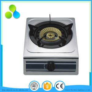 Ce Approved Single Burner Table Gas Stove pictures & photos