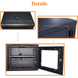 Powder Coating Black Telecom Cabinet Network Cabinet 19in Standard pictures & photos