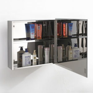 China Factory Wholesale Stainless Steel Bathroom Mirror Cabinet 7015 pictures & photos