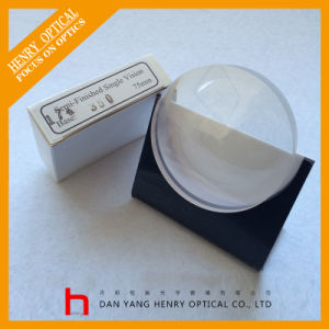 Semifinished 1.74 Sph Single Vision Optical Lens Hmc pictures & photos
