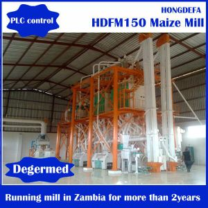 30t Maize Flour Milling Mill Running Machine in Mukono Uganda pictures & photos
