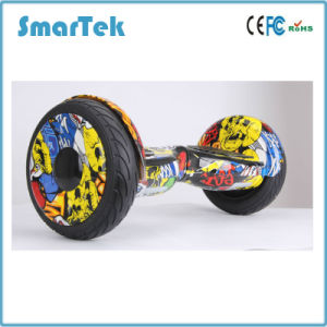 Smartek 10 Inch Two Wheel Electric Scooter Patineta Segboard Seg Way Zebra Cross-Country Hoverboard Gyro Gyroscope with UL Certificate S-002-1 pictures & photos
