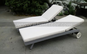 New Sun Lounger Outdoor Lounge Wicker Furniture Garden Lounge Using Pool Side & Hotel pictures & photos