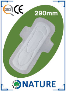Comfort Heavy Flow Sanitary Pad with Dual Wings pictures & photos