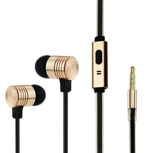 High Quality Mobile Sport Earphone & Headphone in Ear Cell Phone Earphone for iPhone (XS-LP007)