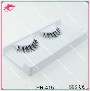 Custom Lashes Human Hair Eyelash by Manufacturer pictures & photos