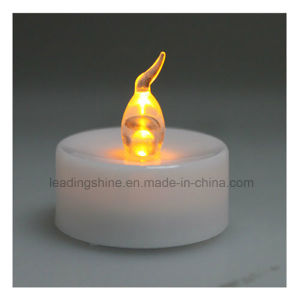 Yellow Battery Operated LED Tealight Candles Flameless Heatless for Wedding Decorating pictures & photos