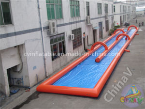 1000FT Inflatable Extreme Dual Lane Water Slide for Rental pictures & photos