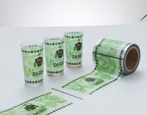 Heat Transfer Film Water Glass pictures & photos