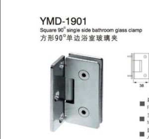 Frameless Shower Accessories Stainless Steel Glass Door Squaer Bathroom Glass Clamp pictures & photos