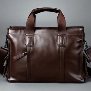 Lap Top Fashion Multi-Function Vintage High Quality PU Laptop Briefcase (2080) pictures & photos