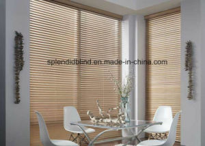 Ladder Tape Cord Control Outdoor Venetian Blinds Ladder Tape Timber Custom Wood Blinds pictures & photos
