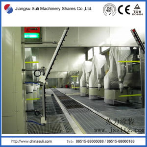 China Suli Shares Automatic Coating Powder Spraying Booth pictures & photos