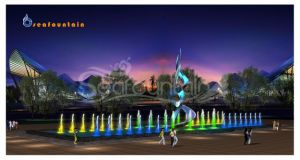 Stainless Steel Various Water Type Program Control Fountain pictures & photos