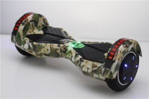 8 Inch Motor with Cool LED Lights Electrical Smart Scooter pictures & photos