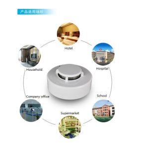 24V Fire Detector for Hotel or Supermarket′s Fire Security pictures & photos