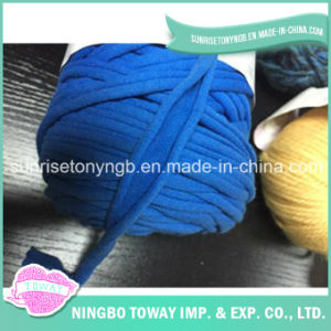 Polyester Fabric Roll Hand Knitting Cotton Fancy Yarn pictures & photos