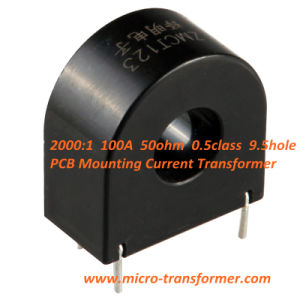 2000: 1 100A 50ohm 0.5class 9.5hole PCB Mounting Current Transformer (ZMCT123) pictures & photos