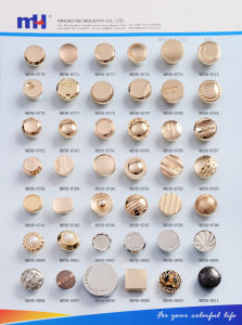 Zinc Alloy Buttons for Jeans pictures & photos