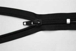 7# Nylon Zipper, Close End Auto-Lock Normal Slider with Good Quality