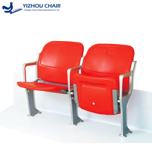 Outdoor Sports Facilities Folding Seats Plastic Stadium Chair pictures & photos