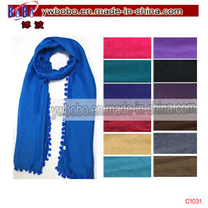 Promotional Items Polyester Scarf Buff Silk Scarf (C1031) pictures & photos