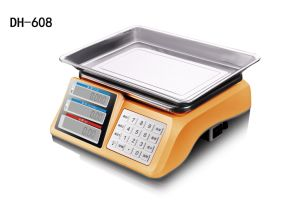Electronic Digital ABS Price Computing Weighing Scale (DH-608) pictures & photos