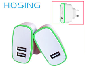 2.1A USB Adapter with 1 or 2 USB Ports pictures & photos